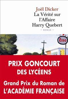 La Vérité sur l'Affaire Harry Quebert Joël Dicker Livre Cultura
