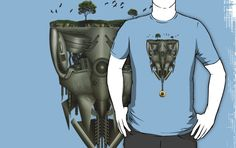 'Mechanical World' T-Shirt by olivertrigger World, Tees, T Shirt, Fictional Characters, Art, Supreme T Shirt, Art Background, T Shirts, Tee Shirt