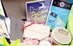 Local goods by #Portland artisans delivered in a subscription box