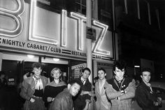 outside the famous Blitz Club