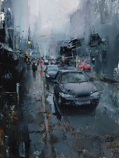 BoldBrush Painting Competition Winner - February 2015 | Watery Shroud by Tibor Nagy