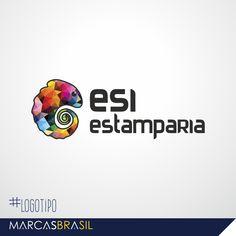 Logotipo – Atualização ESI Estamparia >Atualização de layout para o logotipo da empresa ESI Estamparia< #Logotipo #marcasbrasil #agenciamkt #publicidadeamericana
