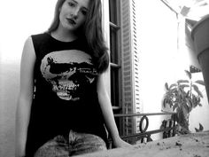 Me. wearing a #chicnova shirt I received a while ago