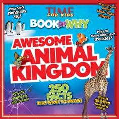 Today at Wrapped in Foil, we compare and contrast between two new middle grade titles about the animal kingdom, TIME For Kids Book of Why: Awesome Animal Kingdom by Editors of TIME For Kids Magazin...
