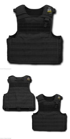 Chest Rigs and Tactical Vests 177891: Black Tactical Plate Carrier Police Private Security Ready Molle Vest Combat -> BUY IT NOW ONLY: $104.95 on eBay!