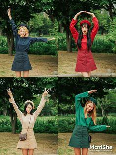 Look at these cute korean fashion 8084 Cute Korean Fashion, Korean Street Fashion, Asian Fashion, Girl Fashion, Fashion Outfits, Fashion Trends, Mode Ulzzang, Ulzzang Girl, Korean Best Friends