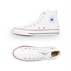 73131715bfd2 Converse Chuck Taylor All Star Hi Leather - Optical White