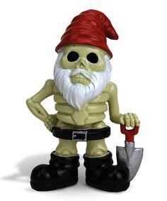 This Billy Bones the Skeleton Garden Gnome is perfect! #zulilyfinds