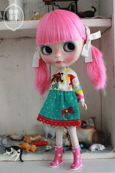 My Custom Commission Blythe Doll. | Flickr - Photo Sharing!