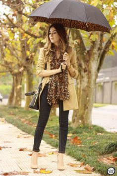 FashionCoolture - 17.07.2015 look du jour camel coat and leopard print (1)