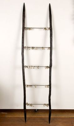 Bett Gallery Hobart - Julie Gough - The missing Jacob's Ladder, Organic Art, Indigenous Art, Ladders, Inner Child, Land Art, Beauty Shop, Wabi Sabi, Stairways