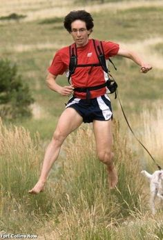 Video: A truly inspiring story of barefoot running.