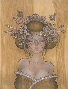 [Присоединенная картинка]     Художница Одри Кавасаки (Audrey Kawasaki) родилась в Лос-Анджелесе в...