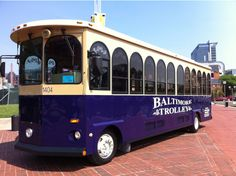 Baltimore Trolleys - Baltimore Sightseeing Tours - Things to do in Baltimore - Z Best