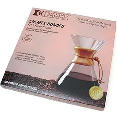 Chemex FP-1 Coffee Filters with 100-Chemex Bonded Unfolded 12'-Filter Paper Circles -- Additional info @ http://www.amazon.com/gp/product/B004P3V4V2/?tag=pincoffee-20&pwx=040716062115