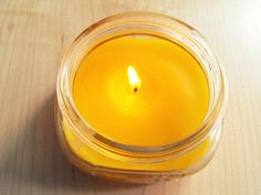 Replace toxic candles - DIY: Beeswax candles - so simple. Definitely going to try this.