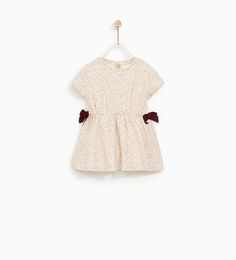 ZARA - KIDS - POLKA DOT DRESS WITH BOWS
