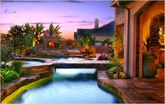 indoor pool landscapes | Dreamscapes By M.G.R. is your premier swimming pool and landscape ...