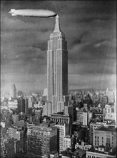 Vintage New York Zeppelin