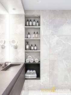Simple and elegant bathroom with black tapware, large format grey tiles and free standing bath. Bathroom Design Small, Bathroom Layout, Bathroom Interior Design, Bathroom Cabinets, Bathroom Designs, Budget Bathroom, Bathroom Renovations, Bathroom Ideas, Bathroom Trends
