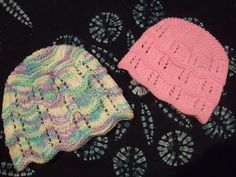 Vine Lace Baby Hat - Knitting Daily