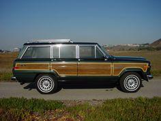 1991 Hunter Green Jeep Wagoneer - ultimate dream car