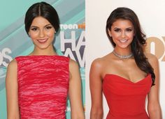 Celebrity Doppelgangers: Victoria Justice and Nina Dobrev