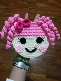 Little boy/girl crochet purse