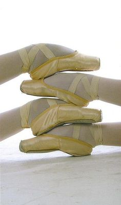 The point of pointe is to stay...en pointe. Get the point? ;)