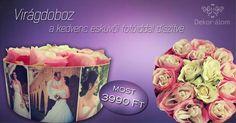 Fényképes virágdoboz rendelhető most bevezető áron!