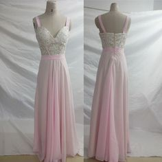 Elegant A-line Pink Long Chiffon Prom Dress sold by dreamdressy. Shop more products from dreamdressy on Storenvy, the home of independent small businesses all over the world.