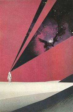 Space art #retrofuturism http://retro-futurism.livejournal.com/542214.html