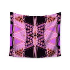 KESS InHouse Decorama Pink by Nina May Wall Tapestry Size: