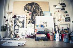 El estudio de Paula Bonet