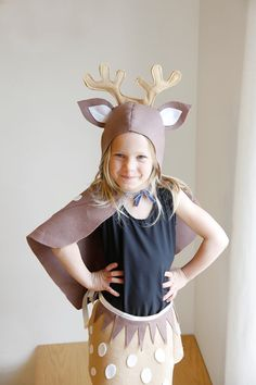 Reindeer pattern diy costume mask sewing tutorial creative play xl pattern bundle 5 costumes sewing tutorial reindeer kitten easter bunny fox raccoon mask children kids holiday purim halloween gift solutioingenieria Image collections