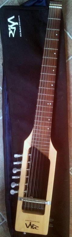 frettedchordophones: Risa Travel Guitar =Lardy's Chordophone of the day - a year ago
