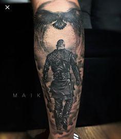 Warrior Tattoo Sleeve, Viking Warrior Tattoos, Viking Tattoo Sleeve, Armor Tattoo, Norse Tattoo, Celtic Tattoos, Best Leg Tattoos, Sweet Tattoos, Best Sleeve Tattoos