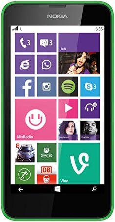 Nokia Lumia 635 Smartphone Mikro SIM (11,4 cm (4,5 Zoll) Touchscreen, 5 Megapixel Kamera, Win 8.1) grün Nokia http://www.amazon.de/dp/B00K1J02T4/ref=cm_sw_r_pi_dp_YXN8vb07YSE27