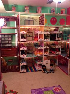 1000 Images About American Girl Doll House On Pinterest