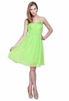 *Maillsa Chiffon Strapless Bridesmaid Dress Prom Dress MS13B0049 (US 6, Green) Maillsa,http://www.amazon.com/dp/B00ESCZT8E/ref=cm_sw_r_pi_dp_gULwsb0BC1VZWNCG