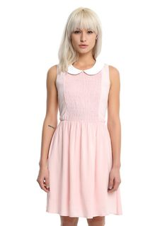 Stranger Things Eleven Blush Dress, PINK