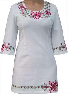 """#вишиванка жіноча, сукня """"Ніжність"""" в червоно-зелених тонах (Арт. 00311), 1 180 ГРН."""