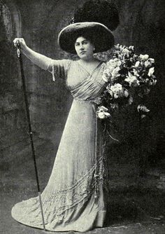Emmy Destinn (1878-1930) was a Czech operatic soprano with a strong and soaring lyric-dramatic voice. She had a career both in Europe and at the New York Metropolitan Opera.