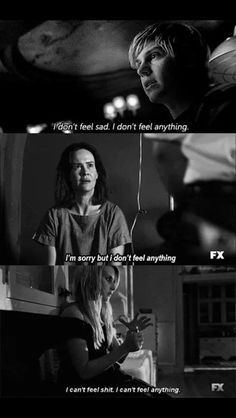Scenes from American Horror Story -all 3 seasons