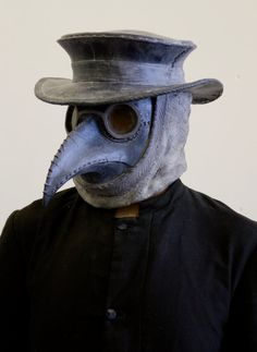 Traditional Plague Doctor The mask is thick cast out of quality latex, it is available in limited numbers only. Each mask is finished by Plague Mask, Plague Doctor Mask, Plague Dr, Plauge Doctor, Doctor Stuff, Steampunk Armor, Bird Masks, Halloween Masks, Halloween 2018