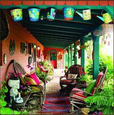 Colorful Santa Fe