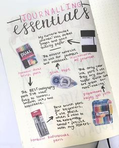Take your bujo to the next level with these creative Bullet Journal setup ideas (that you can adopt at any time of the year! Bullet Journal Tracking, Bullet Journal Essentials, Bullet Journal Spread, Bullet Journal Ideas Pages, Bullet Journal Inspiration, Pretty Handwriting, Dotted Page, Glue Tape, Wallet Pattern