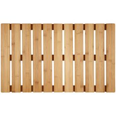 BuyJohn Lewis Rubberised Bamboo Bathroom Duckboard, Natural Online at johnlewis.com