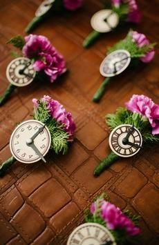 Times a tickin' (Photo: Toto Villaruel via Bride and Breakfast)