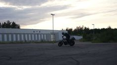 Drifting with CBR 600 in 2013